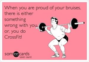 CrossFit Bruises